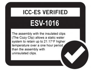 ICC-ES verified